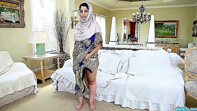 Hot busty Pakistani nympho Nadia Ali is happy to masturbate her wet pussy