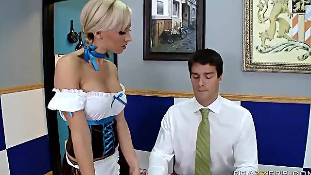 Super hot waitress uniform