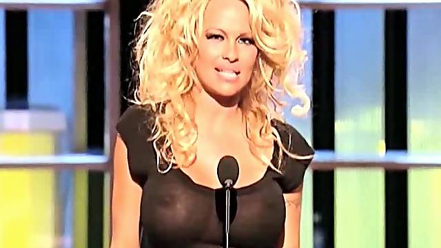 Pamela Anderson is talking dirty on the cam