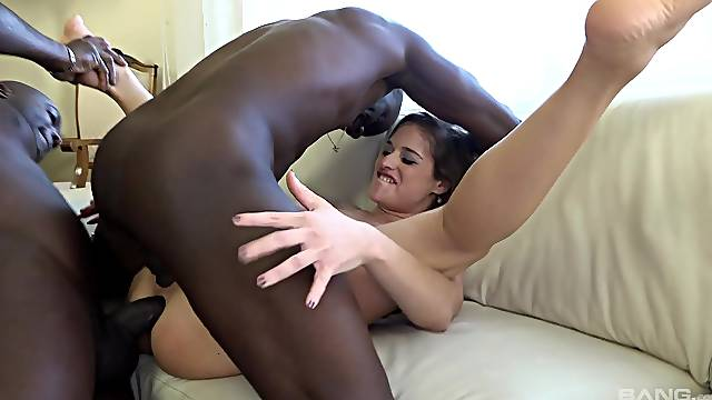 Wife gets BBCs to torn her ass and pussy apart