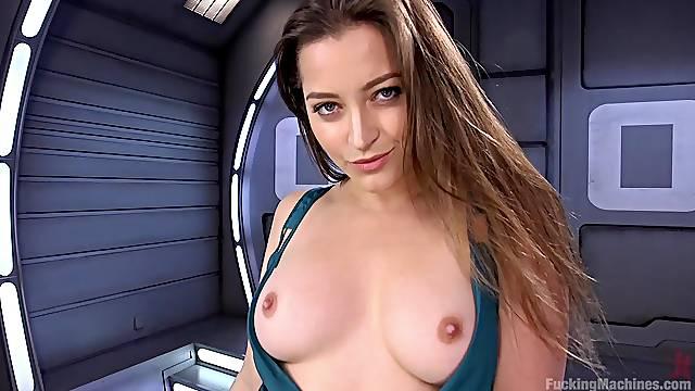 Fuck machine and powerful vibrator please sexy Dani Daniels