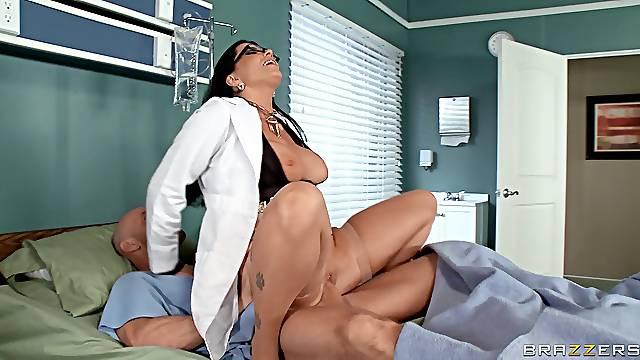 Hospital orgy with Anna Bell Peaks, Romi Rain and Nicole Aniston