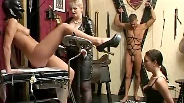 Kinky fetish threesome with Germans