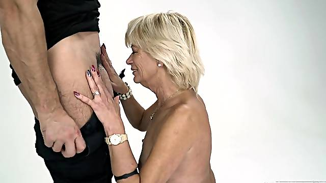 Diane Sheperd is ready for hard sex experience with her young friend