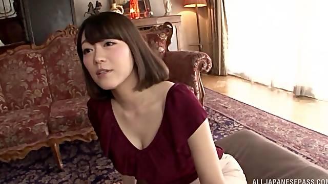 Hot Nishino Shou gets her cunt plowed by a kinky friend