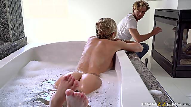 Mommy is keen to feel a little cock in her tiny cunt