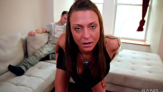 Aroused MILF taped in flaming scenes when doing the kinkiest things