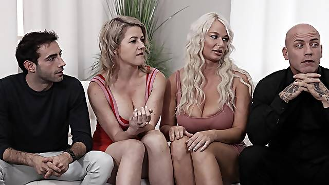 Aroused women in premium group sex compilation
