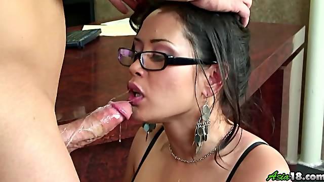 Busty mom fucked hard and made to swallow like a slut