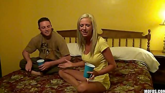 Horny Chicks Go On a Road Trip To Squirt In a Threesome