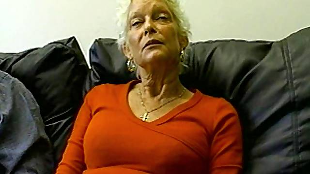 Surprisingly fit granny gobbles knob and takes a pounding