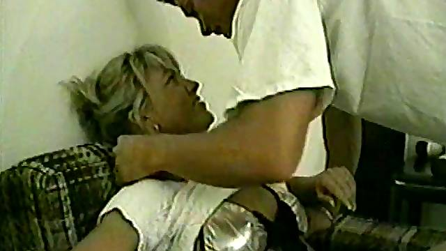 A busty mature amateur gets drilled by a younger guy