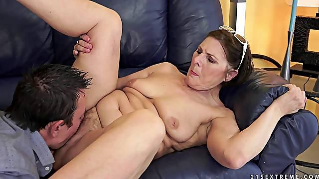 Granny slut with a wonderful wet pussy fucked hardcore