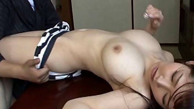 Passionate fucking at home with nice tits Japanese wife Azumi Kinoshita