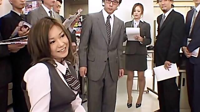 Wild fucking in the office with nice natural boobs Miruku Matsusaka