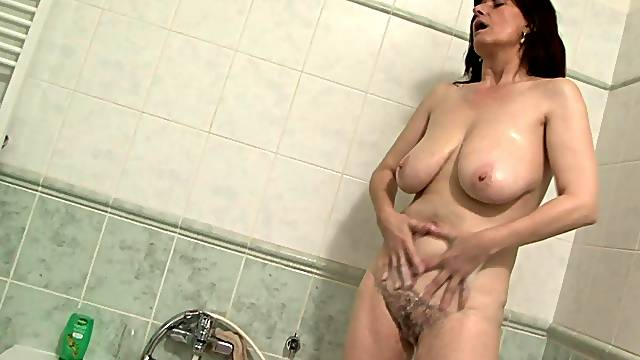 Dirty mature wife Janicka loves having sex with a huge black rod