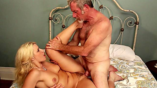 Nice ass wife Anikka Albrite moans from pleasure of nice sex