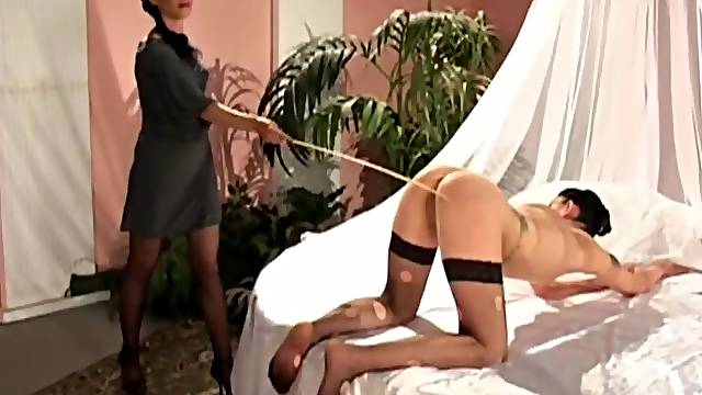 Femdom torture video between two friends who are into BDSM