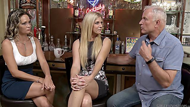 Behind the scenes with pornstars India Summer and Prinzzess