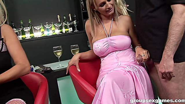 Wendy Star and her mature sluts ride dicks in a group fuck session
