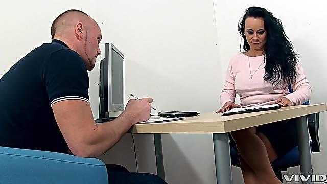 Mature teacher makes him an offer he can not refuse. HD video