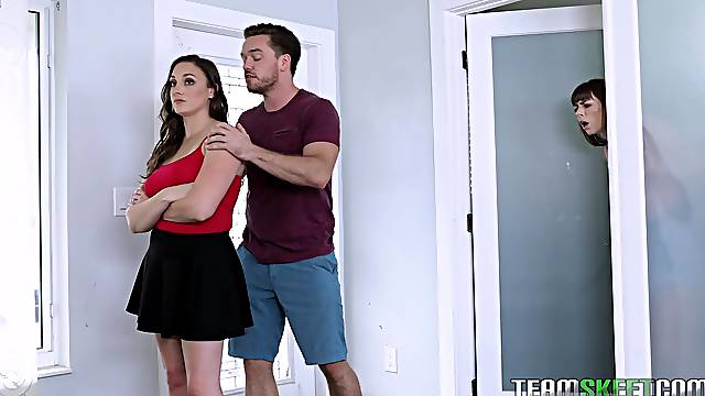 Threesome with Kyle Mason and Melanie Hicks is a fantasy of this guy