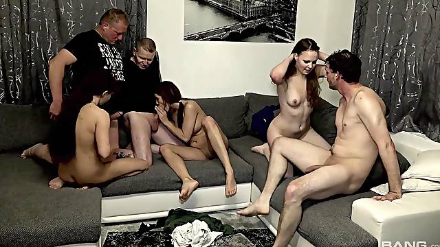 Sexy Samy Saint likes rough group sex more than anything else