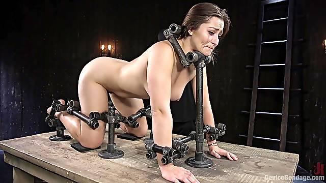 Handsome model Dani Daniels gets rough tortured by a pervert