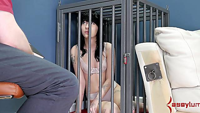 Female slave Charlotte Sartre abused and fucked in all holes