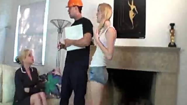 Cum loving blonde Amanda Cameron enjoys sucking a strangers cock