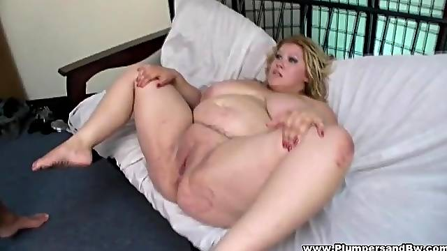 Fat blonde whore Kacey Parker moans while getting destroyed
