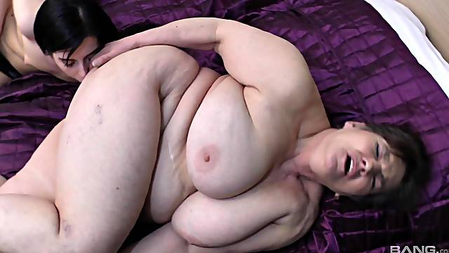 Old vs young lesbian porn with two horny amateur babes. HD