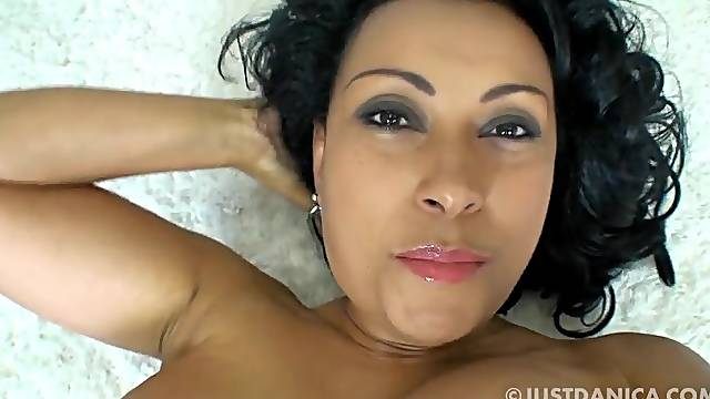 Closeup video of dirty MILF Danica Collins pleasuring her cravings