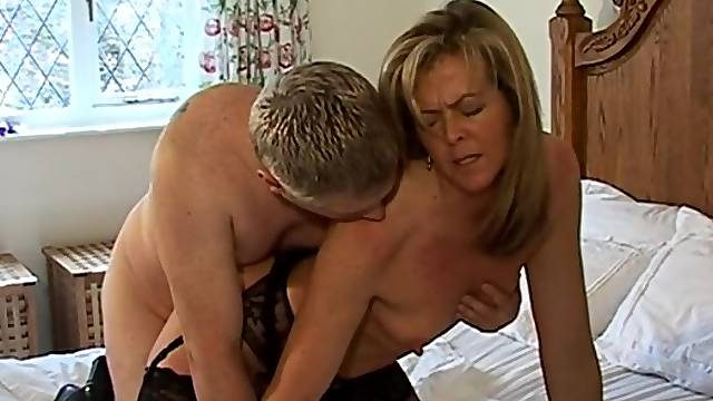Nice fucking in the morning with small boobs amateur wife Alex