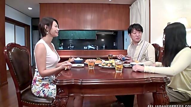 Creampie ending after passionate fucking with adorable Takigawa Yunoka