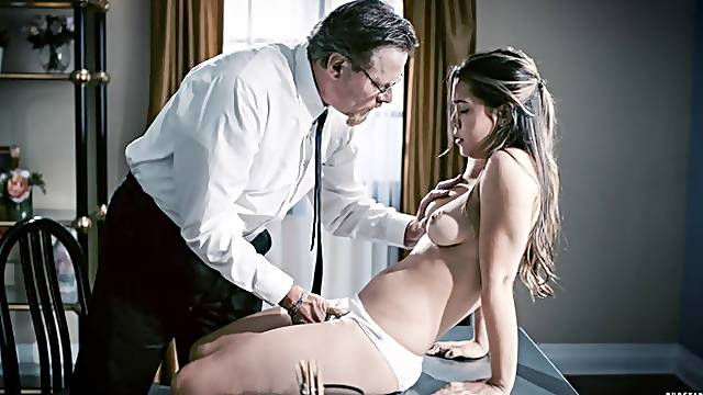 Aesthetic evening sex with a natural sexwife Alina Lopez