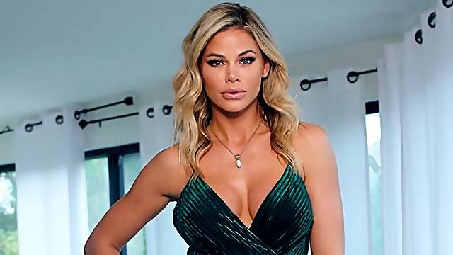 Beautiful busty goddess Jessa Rhodes fucks like a pornstar