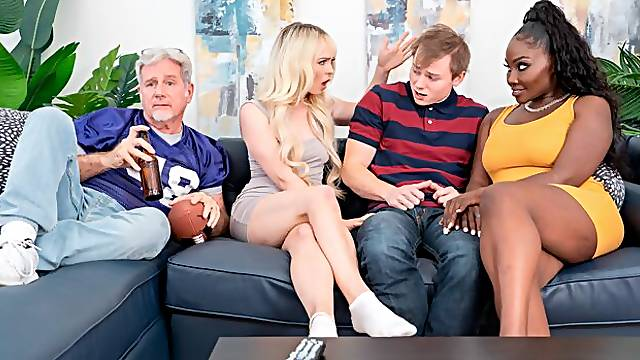 Lusty sex dolls Osa Lovely and Lilly Bell are getting fucked