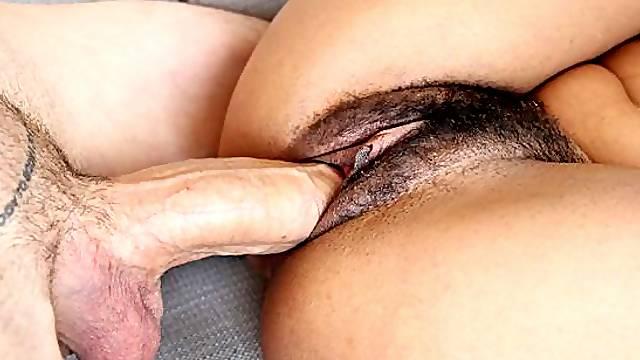 Small-tit Latina angel Vienna Black enjoys his long and hard dick
