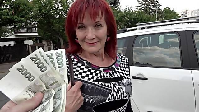 Mrs Irena loves money and cocks