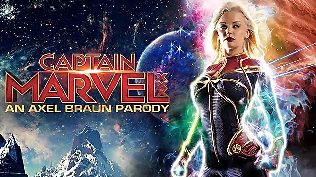 Сaptain Marvel xxx : an Axel Braun parody