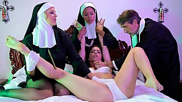 Ministry Of Evil Sc. 3: Threesome Nun