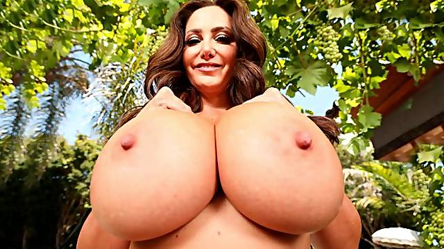 Ava Addams Rides Dick And And Bounces Her Huge Titties