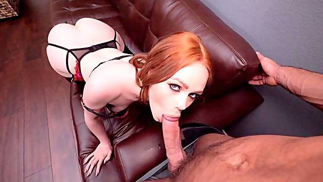 Ella Hughes fucking in the bed with her bubble butt