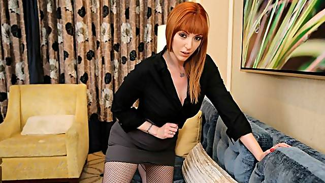 Lauren Phillips seduces speaker at conference