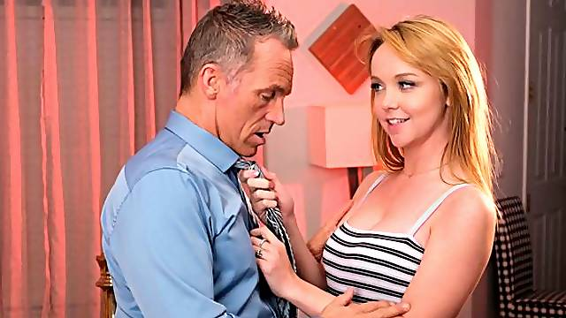 Nikole Nash always wanted to fuck her friends DAD