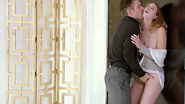 Kinky Secretary Gets Tied Up and Fucked By Her Boss