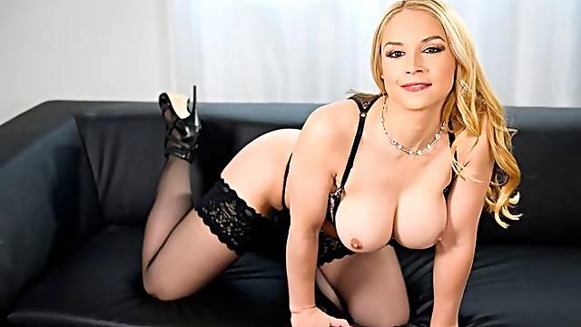 Busty MILF Sarah Vandella Cock Sucker In POV