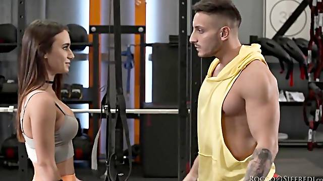 Roccos Fitness Sluts: Teen Edition - Scene 2