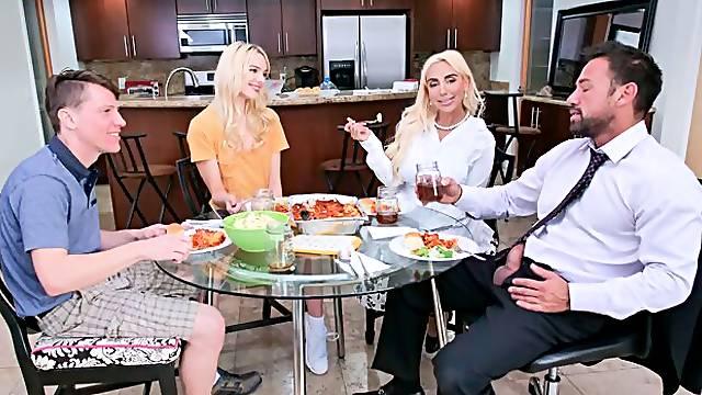 Step Family Dinner